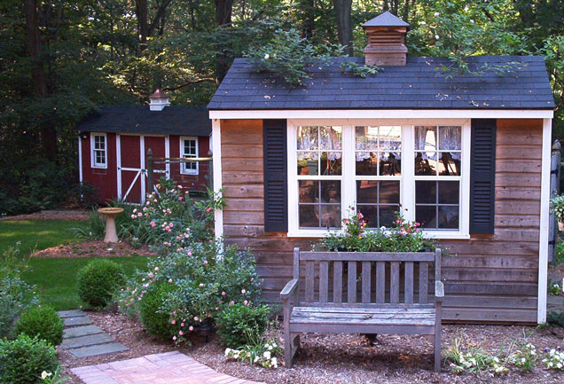 the garden sheds are not only used for the gardening purpose but also